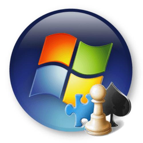 как восстановить стандартные игры в windows 7