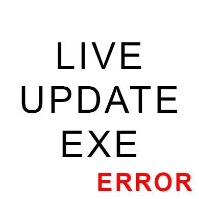 LiveUpdate.exe ошибка