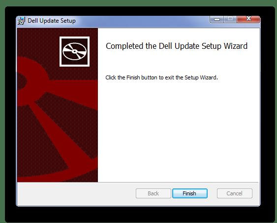 окончание загрузки Dell Inspiron 3521