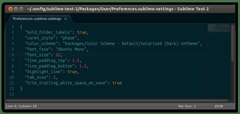 текстовый редактор sublime text для линукс