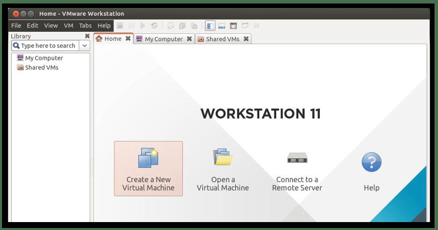 виртуальная машины vmware в linux