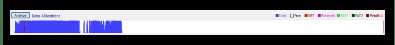 Анализ HDD в программе Eassos PartitionGuru