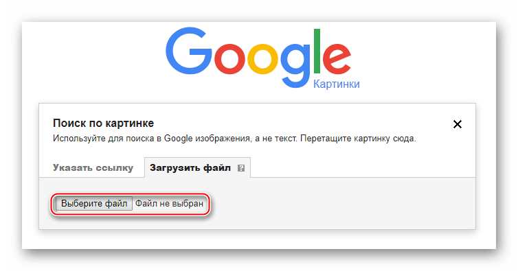 Google Images варианты поиска