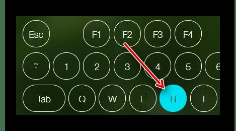Индикация зажатой кнопки на клавиатуре или мыши на сайте Key-Test