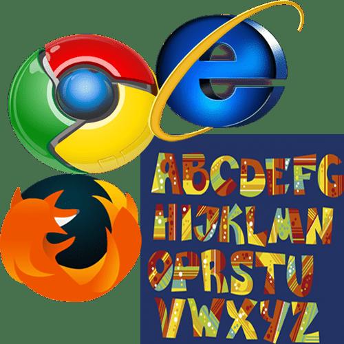 Изменился шрифт в браузере как вернуть старый