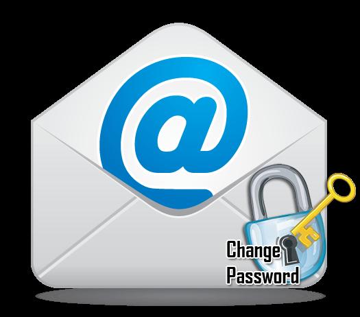 Как измениь пароль на электронной почте