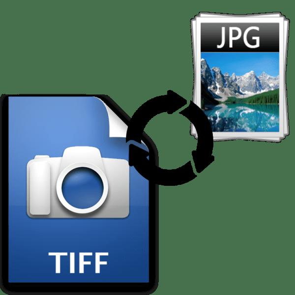 Как конвертировать tiff в jpg
