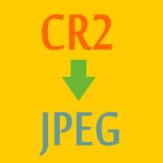 Конвертирование CR2 в JPG