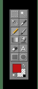 Панель инструментов Pixelformer