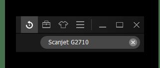 Поиск устройства в программе hp scanjet g2710_012