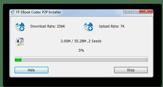 Процедура загрузки кодека для конвертирования в формат MOBI в программе Format Factory