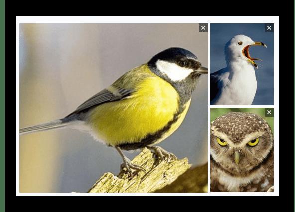 Проверка качества изображений в блоке создания записи на главной странице сообщества на сайте ВКонтакте