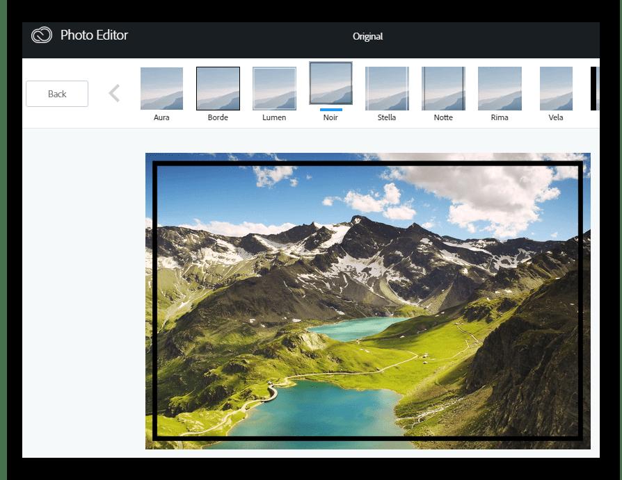 Рамки Онлайн-фоторедактор Aviary