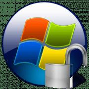 Снятый пароль в Windows 7