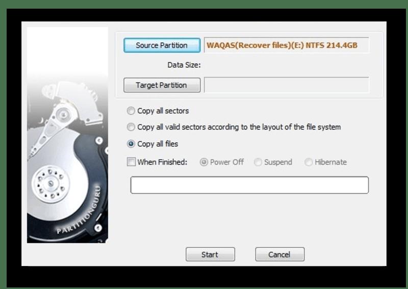 Создание загрузочного USB с помощью программы Eassos PartitionGuru