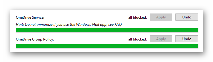 Spybot Anti-Beacon for Windows 10 отключение слежки через облако OneDrive