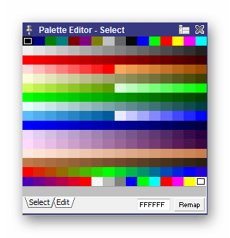 Цветовая палитра Pro Motion NG
