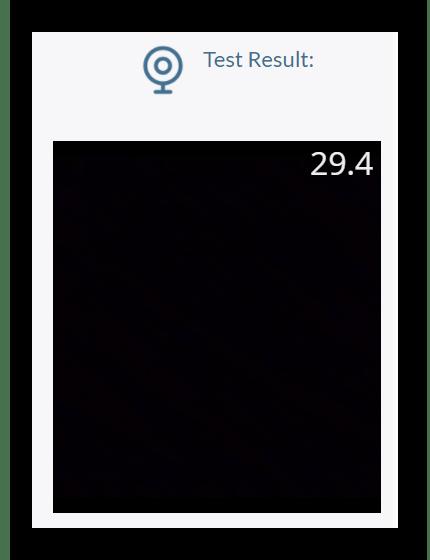 Тест веб-камеры в реальном времени на сайте Onlinemictest