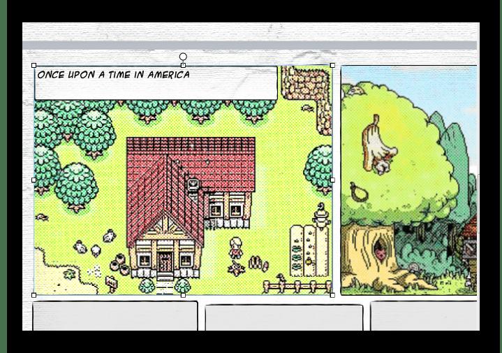 Вид страницы Comic Life