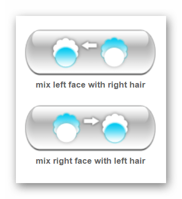Выбор метода перемещения лица Makeovr