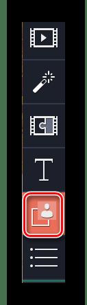 Заходим в раздел Хромакей в Movavi Video Editor