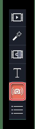 Заходим в раздел Стабилизация в Movavi Video Editor