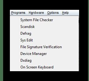 Запуск программ System Spec