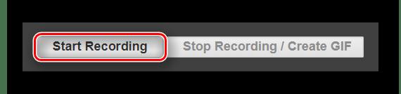 Кнопка начала процесса конвертирования видео в анимацию на сайте Videotogiflab