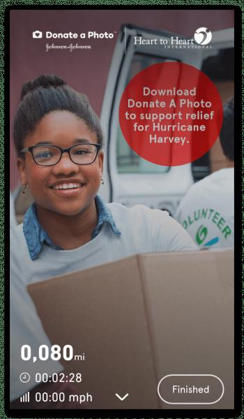 Charity Miles на Андроид