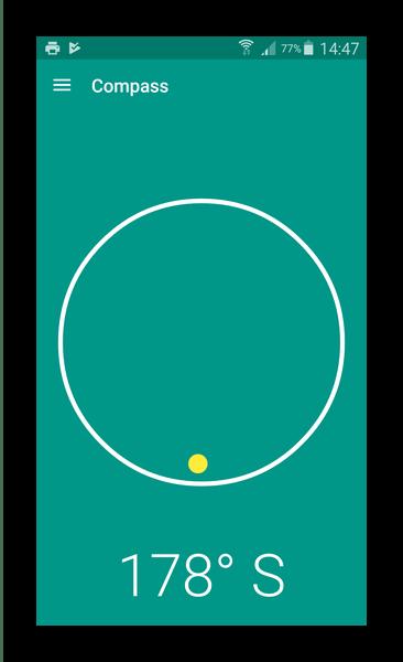 Единый интерфейс все окон Material Compass
