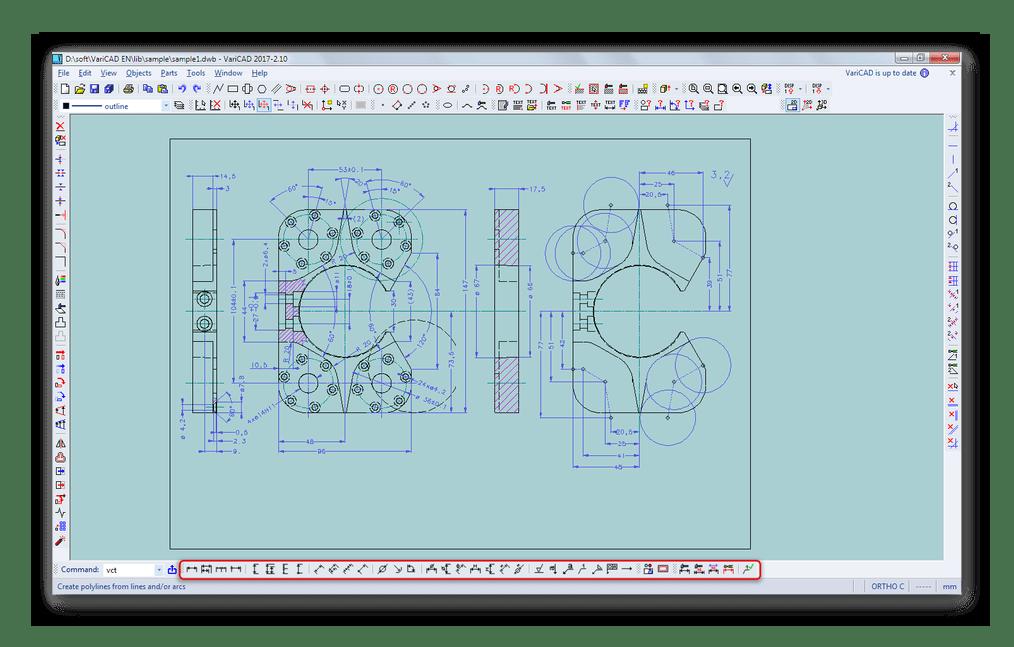 Инструменты для проведения автоматизированных измерений в VariCAD