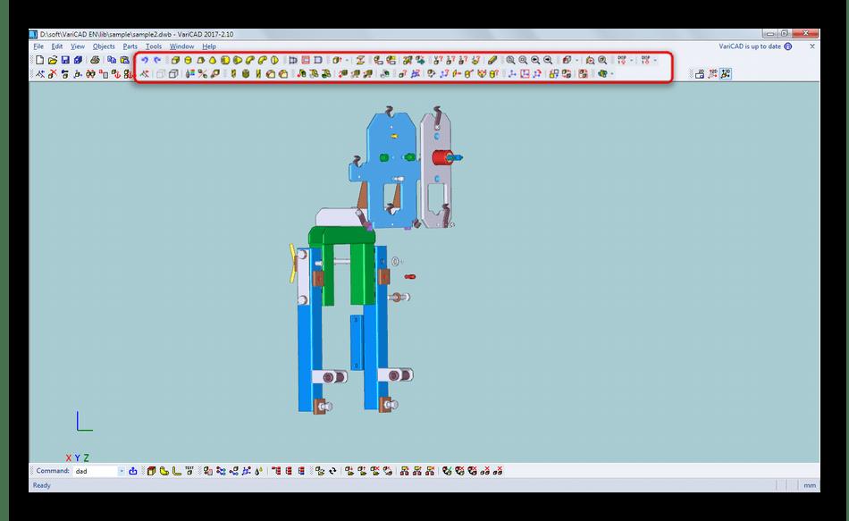 Инструменты для создания трехмерных моделей в VariCAD