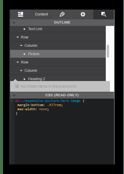 Исходный код CoffeeCup Responsive Site Designer