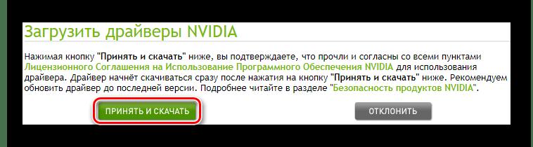 NVIDIA Официальный сайт Принятие лицензионного соглашения