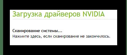 NVIDIA Официальный сайт Сканирование системы