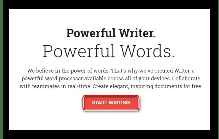 Начинаем работу с сервисом Zoho Writer