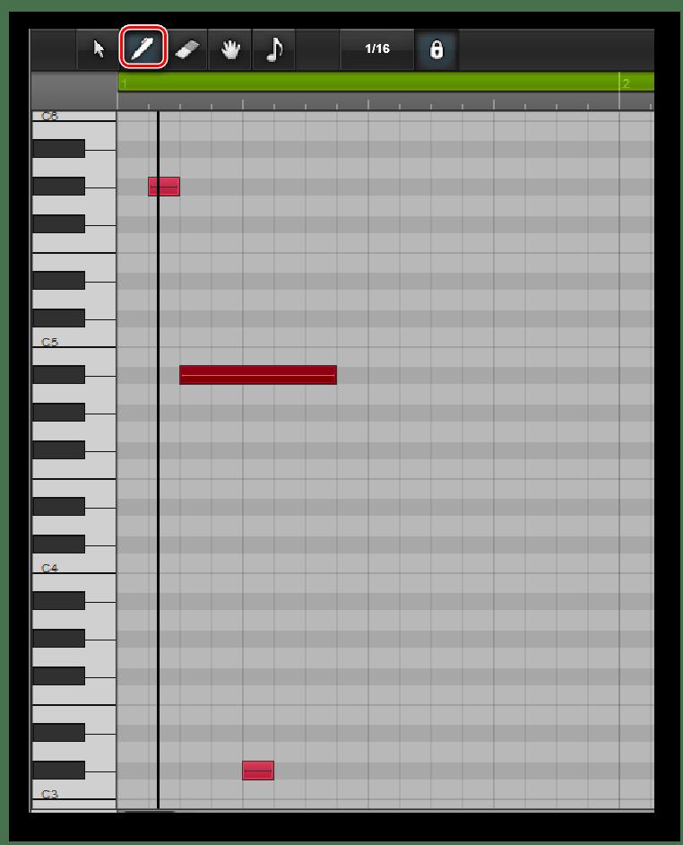 Панел блокнота на Audiosauna