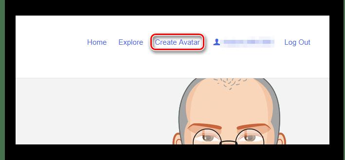 Переходим к созданию аватара в Pickaface