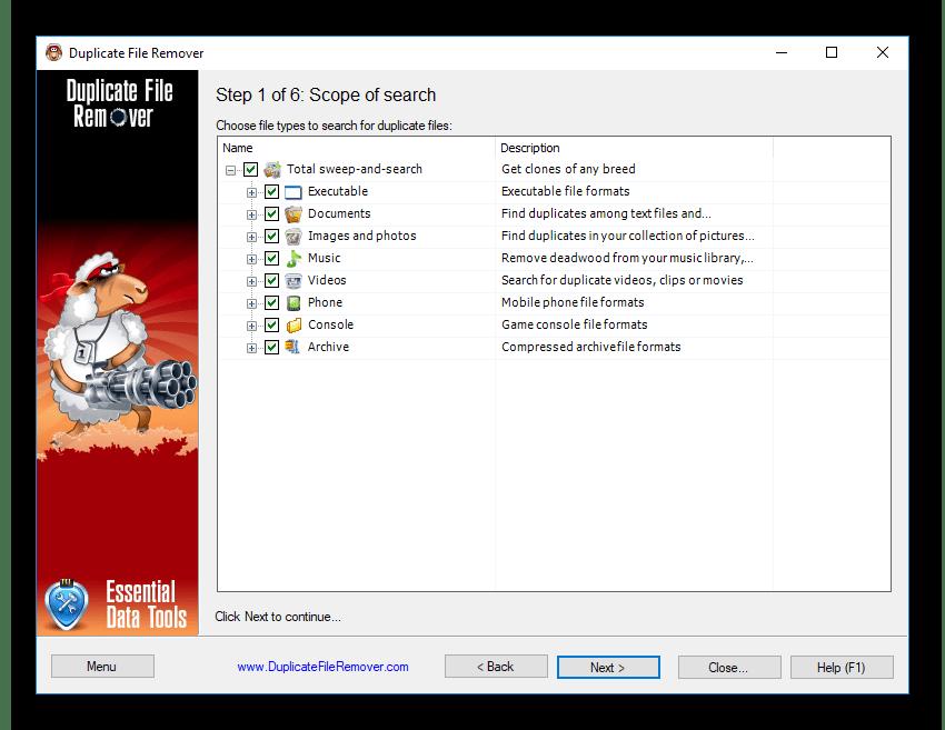 Широкие возможности поиска дубликатов при помощи Duplicate File Remover