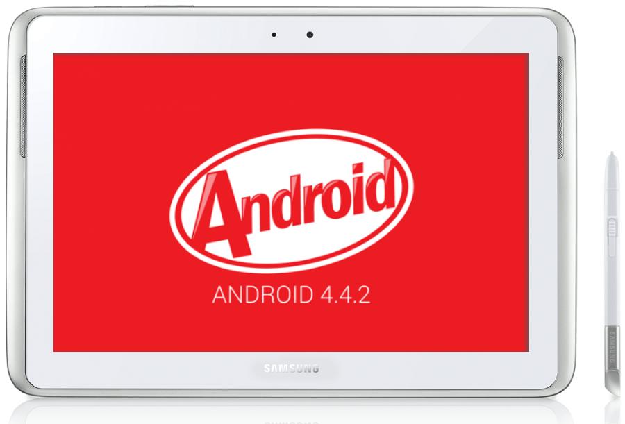 Samsung Galaxy Note 10.1 GT-N8000 последняя официальная прошивка Android 4.4