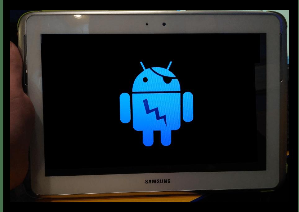 Samsung Galaxy Note 10.1 N8000 Mobile Odin Перезагрузка в режим прошивки