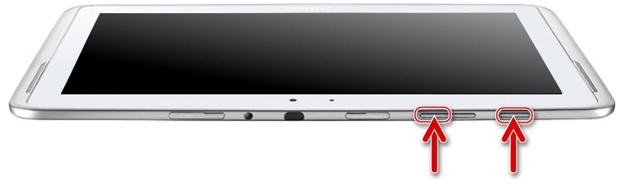 Samsung Galaxy Note 10.1 N8000 запуск модифицированного рекавери TWRP