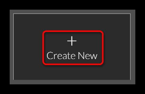 Создаем новый проект Онлайн-сервис WeVideo