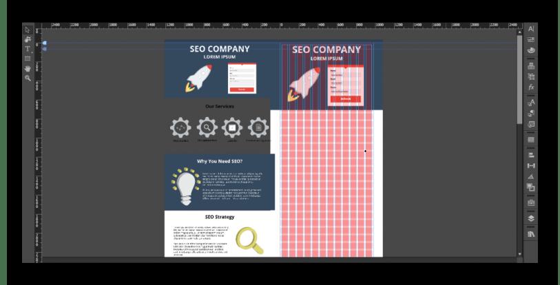 Создание адаптивного дизайна в программе Adobe Muse