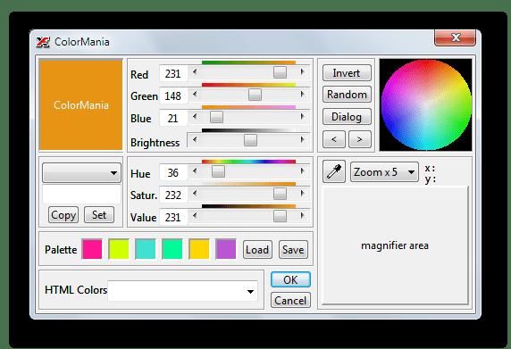 Выбор цвета текста при создании баннеров в X-Fonter