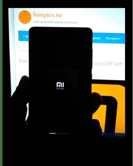Xiaomi Mi4C System Updates установка прошивки после перезагрузки