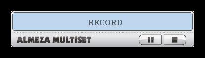 Запись инсталляции приложения в программе MultiSet