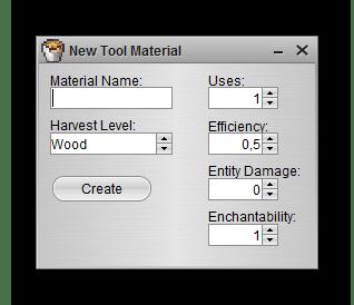 Добавление материала Linkseyi`s Mod Maker