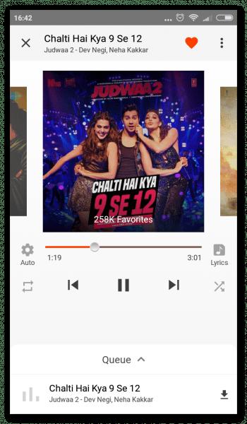 Gaana Music на Андроид