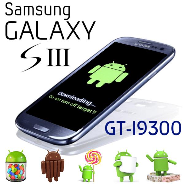 Как прошить Samsung Galaxy S3 GT I9300